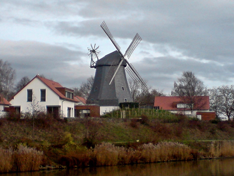 Eine ehemalige Mühle in Hannover