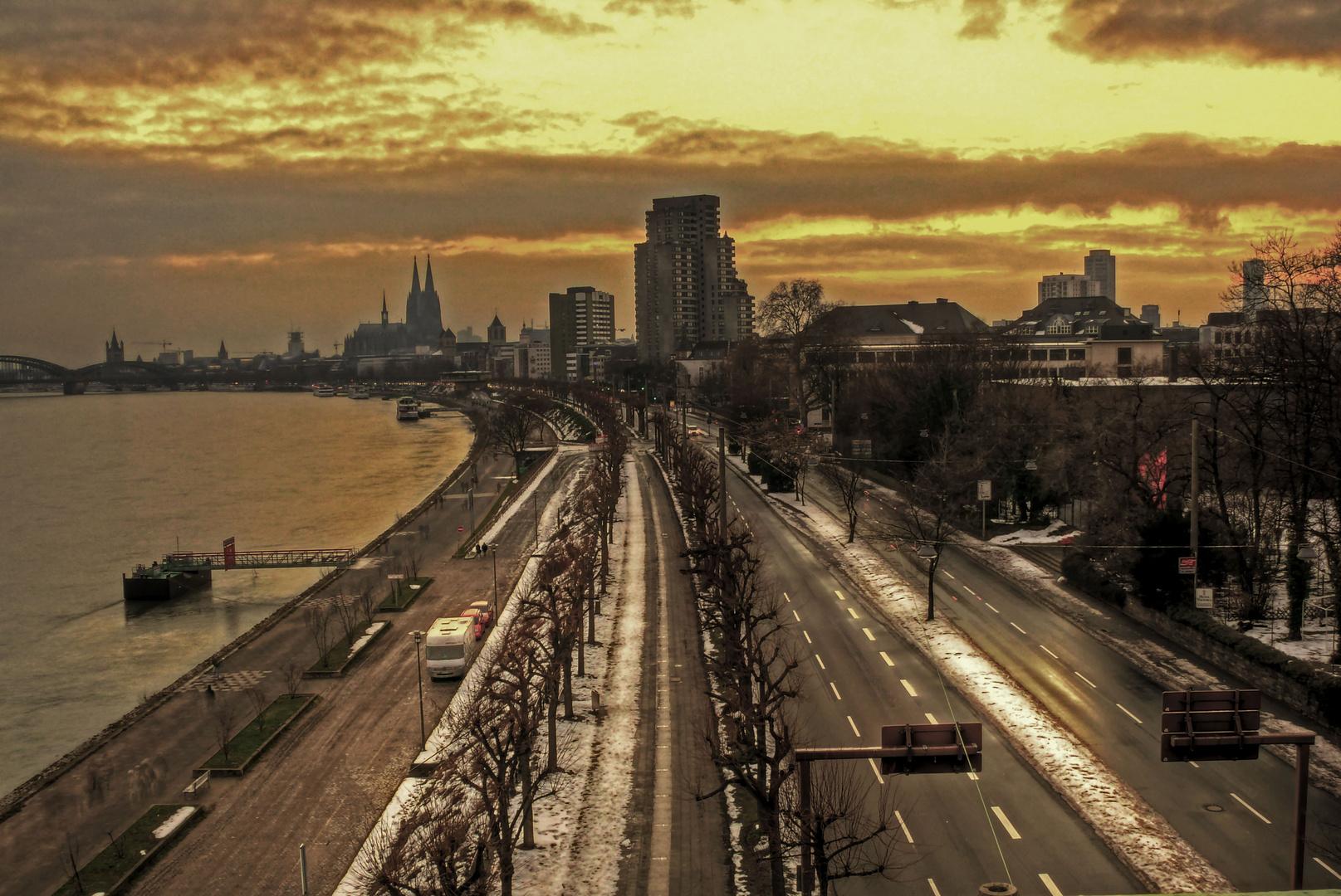 Eine Emotion von Köln