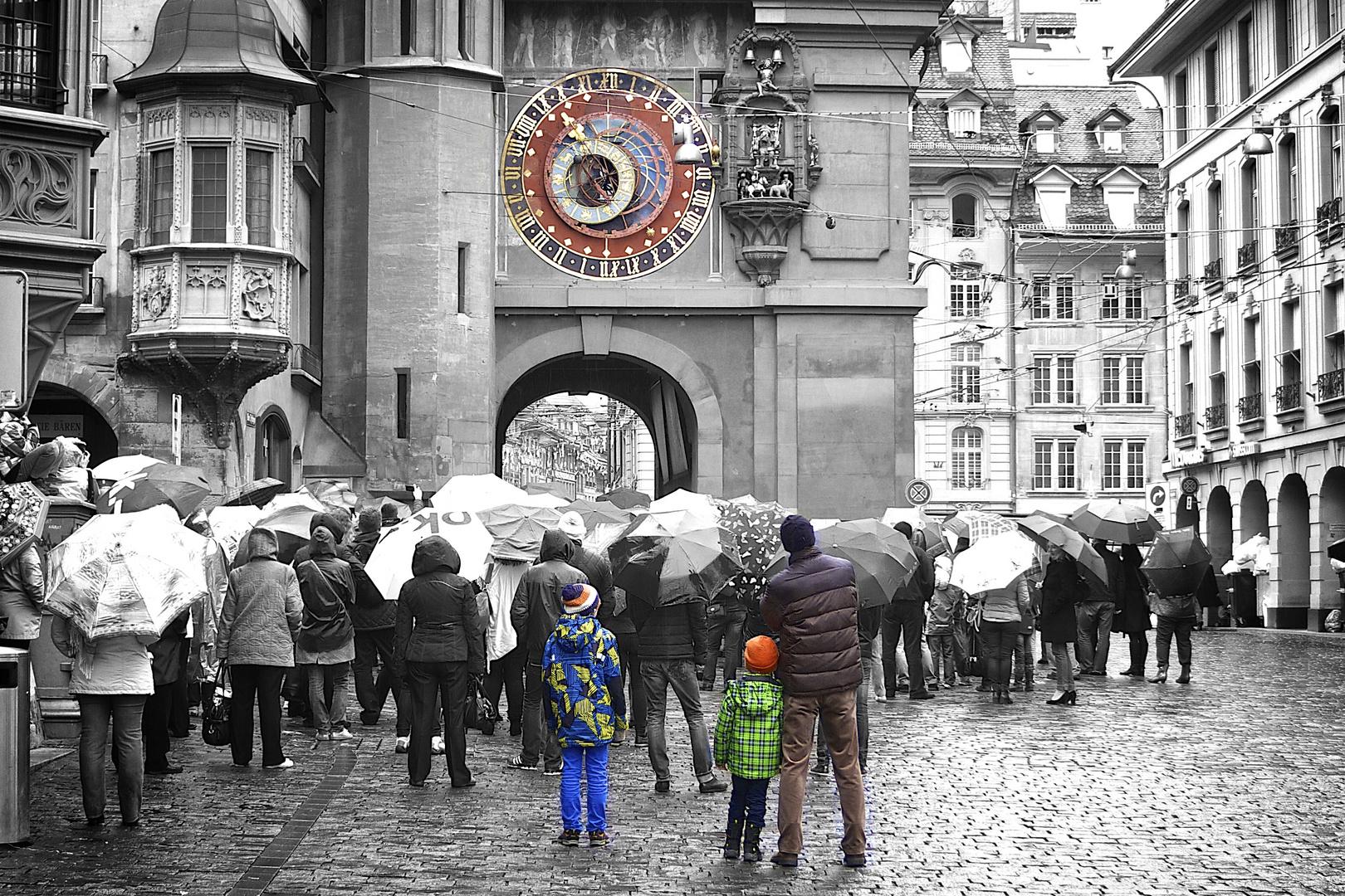 Eine Familie in Bern
