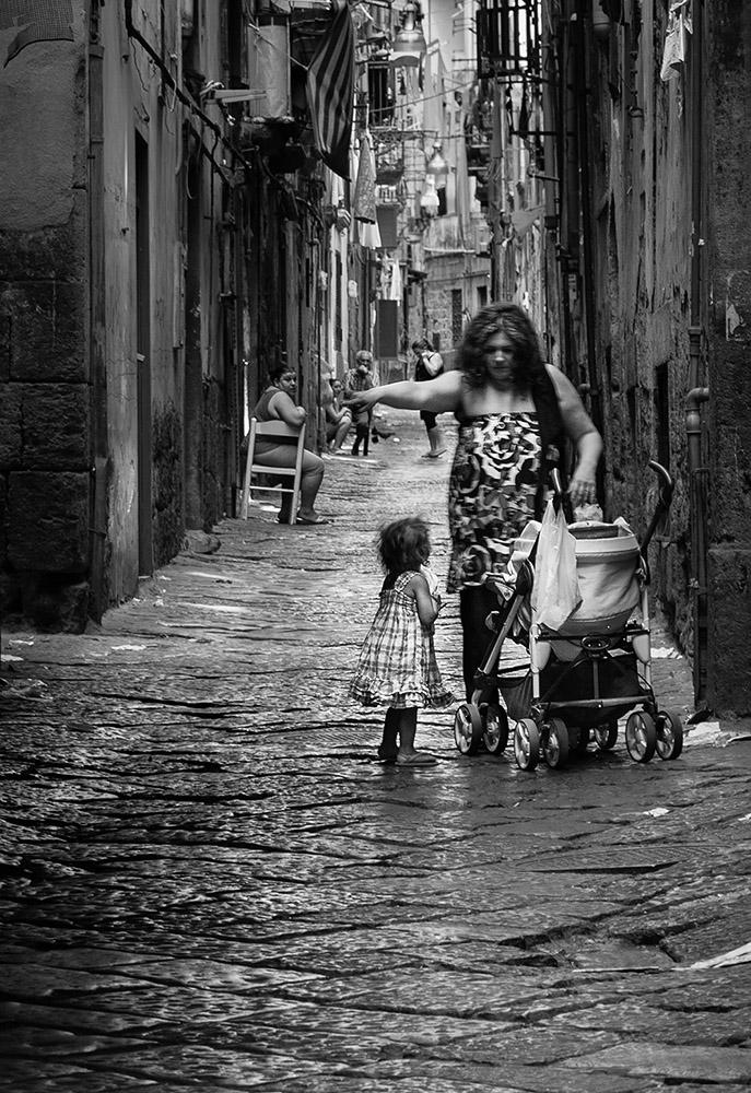 eine Gasse in Palermo
