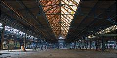Eine Halle des AW Wedau