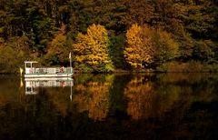 Eine Herbstfahrt auf der Fähre Welles ...