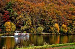 Eine Herbstfahrt mit der Fähre Welles, ...