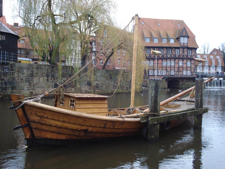 Eine historische Bootsfahrt