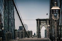 Eine Ikone des amerikanischen Brückenbaus - Brooklyn Bridge