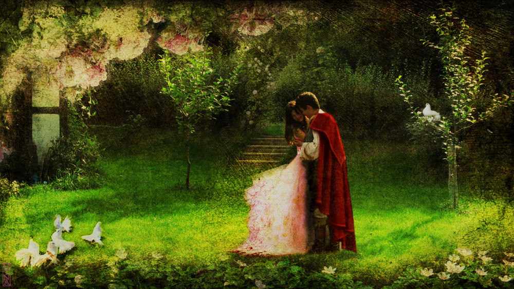 Eine junge liebe im garten eden foto bild for Garten eden