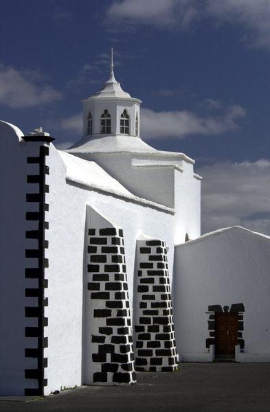 eine Kirche auf Lanzerote