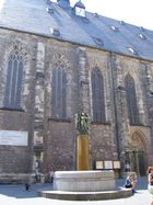 eine Kirche in Halle