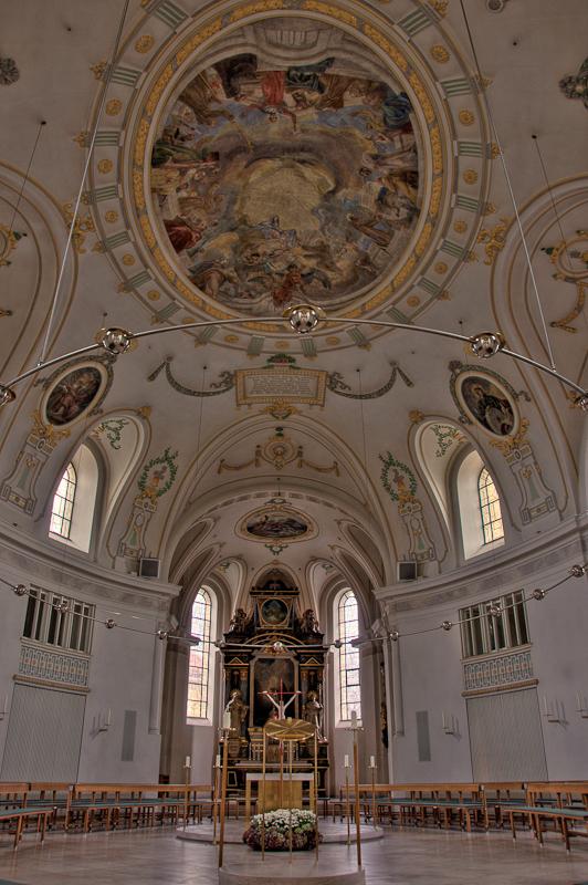 Eine Kirche in Passau