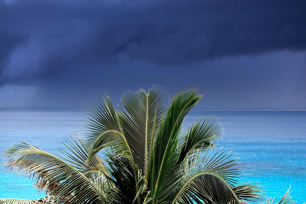 Eine klein Regenfront