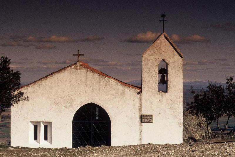 Eine kleine Kirche im Alentejo