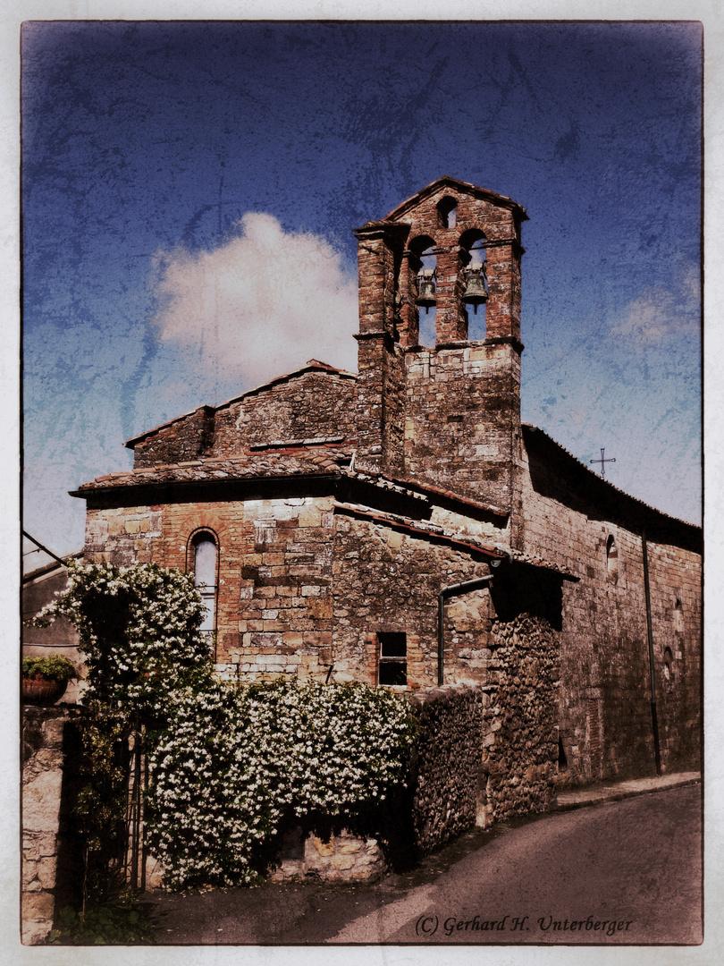 Eine kleine Kirche in Volterra!