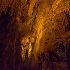 eine kleine Tropfsteinhöhle in der Slowakei