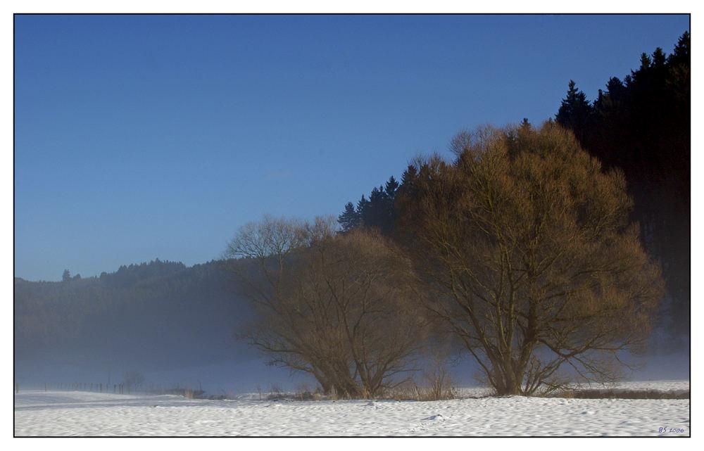 ...eine kleine Winterlandschaft...