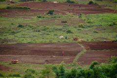eine landschaft wie ein gemälde, burma 2011