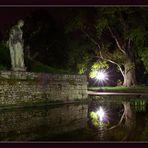 Eine laue Nacht im Grazer Stadtpark