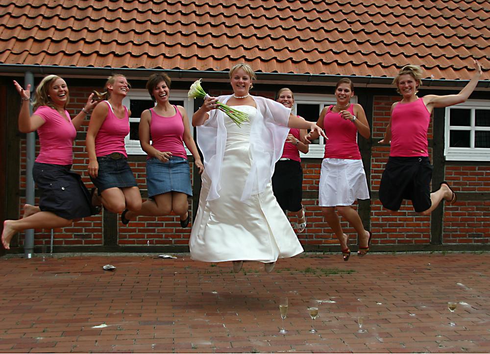 Eine Lustige Hochzeit Foto Bild Erwachsene Menschen Bilder Auf