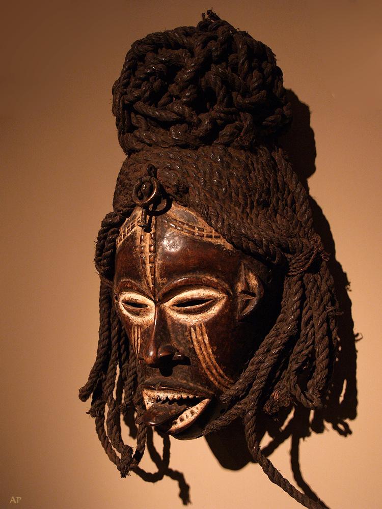 Eine Maske