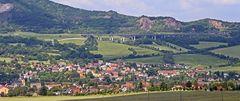Eine meiner bevorzugten Sichten in Böhmen in der Gegend vom Elbestau