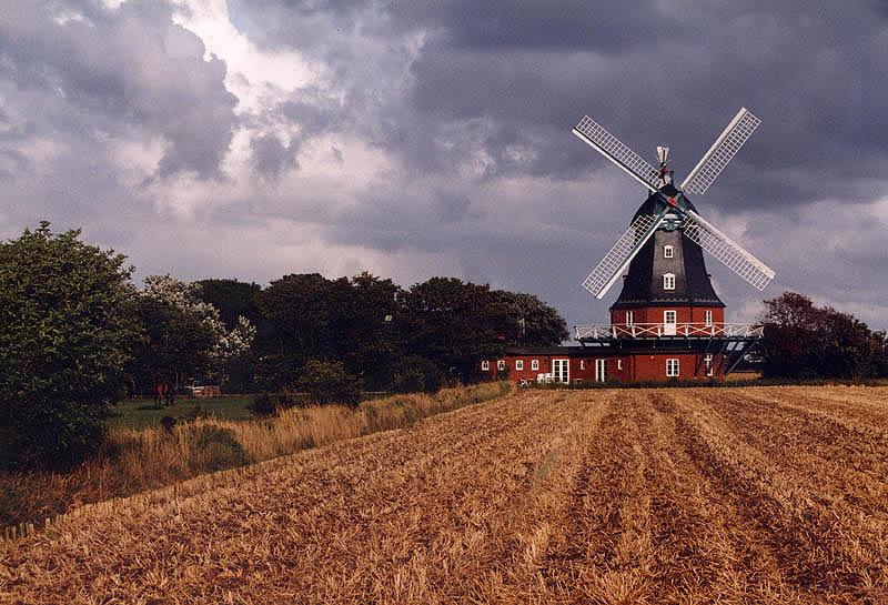 Eine Mühle auf Föhr