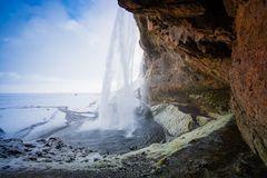 Eine Nacht am Wasserfall