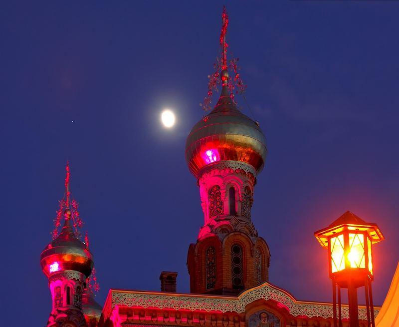 Eine Nacht in Rot