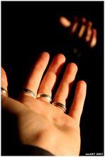 Eine offene Hand...