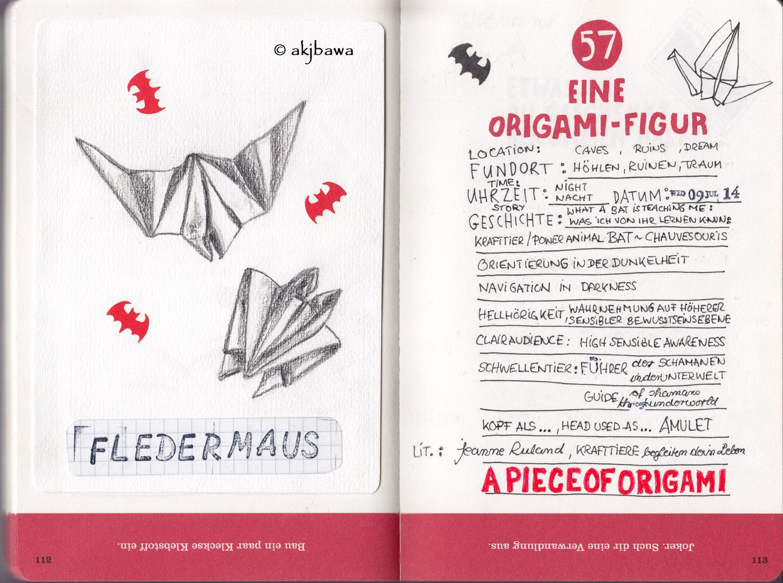 Eine Origami-Figur