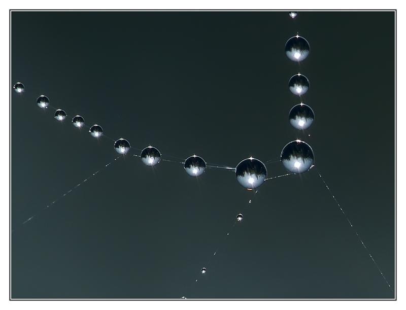 Eine Perlenkette