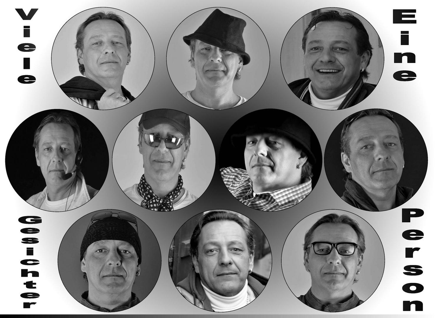 Eine Person ... viele Gesichter :-)