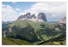 Eine Postkarte aus den Dolomiten
