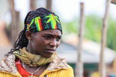 Eine Rastafari-Sympathisantin?...
