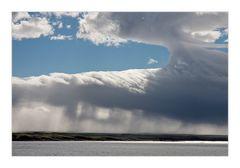 Eine riesige Ambosswolke