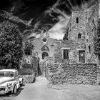 Eine Ruine in der Provence