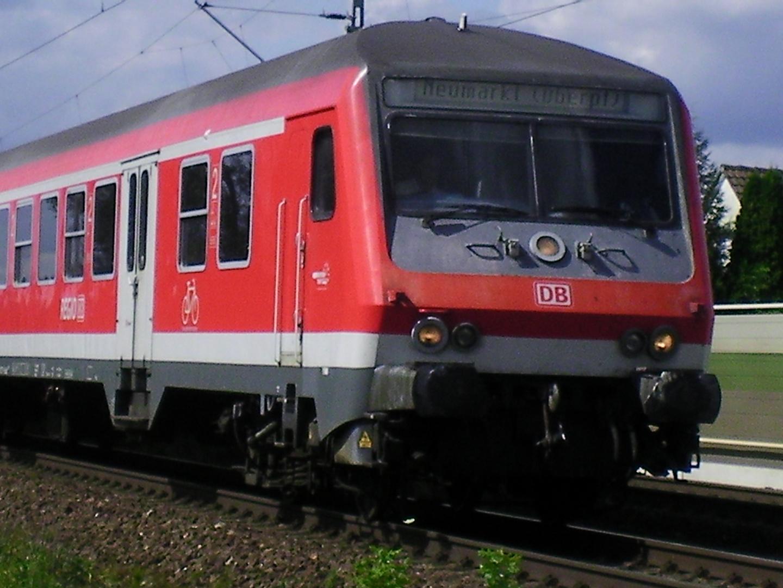 Eine S-Bahn nach Neumarkt