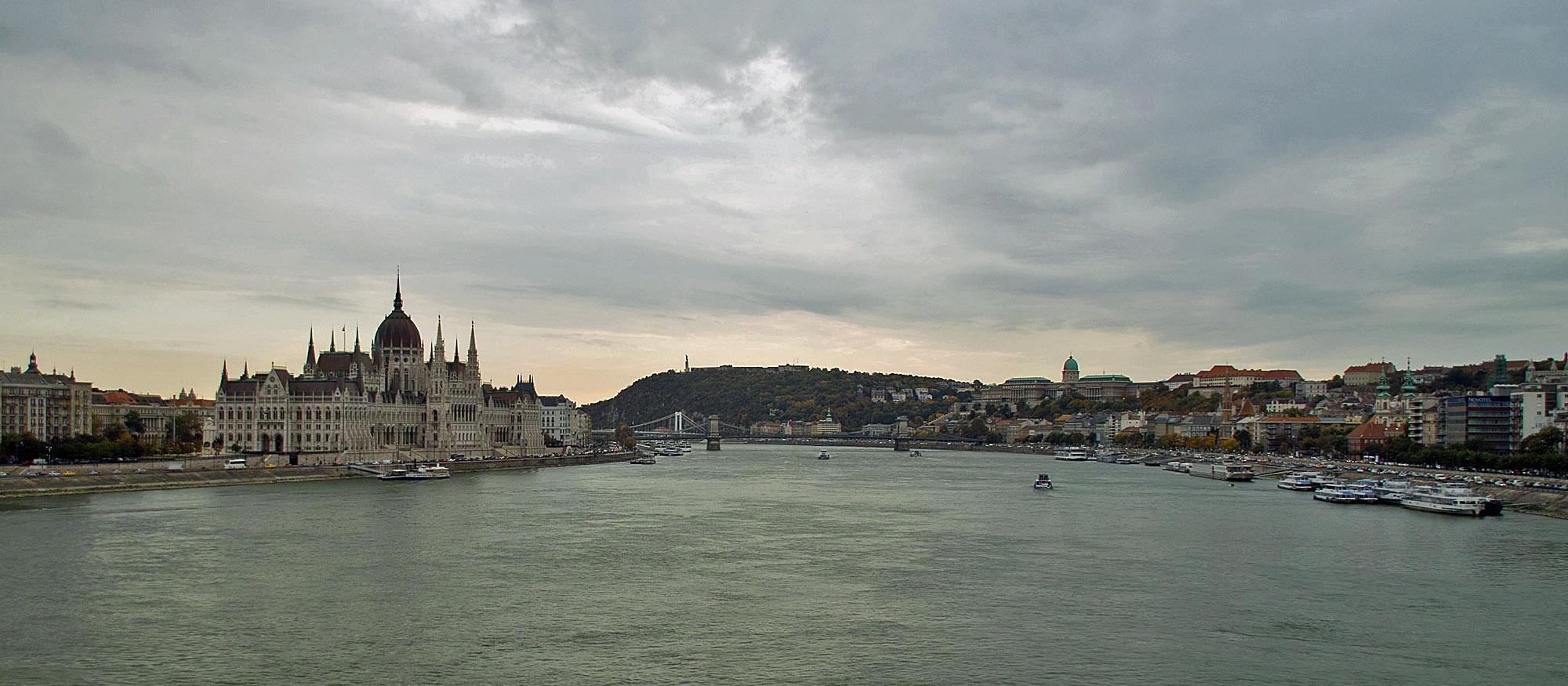 Eine Schifffahrt auf der Donau