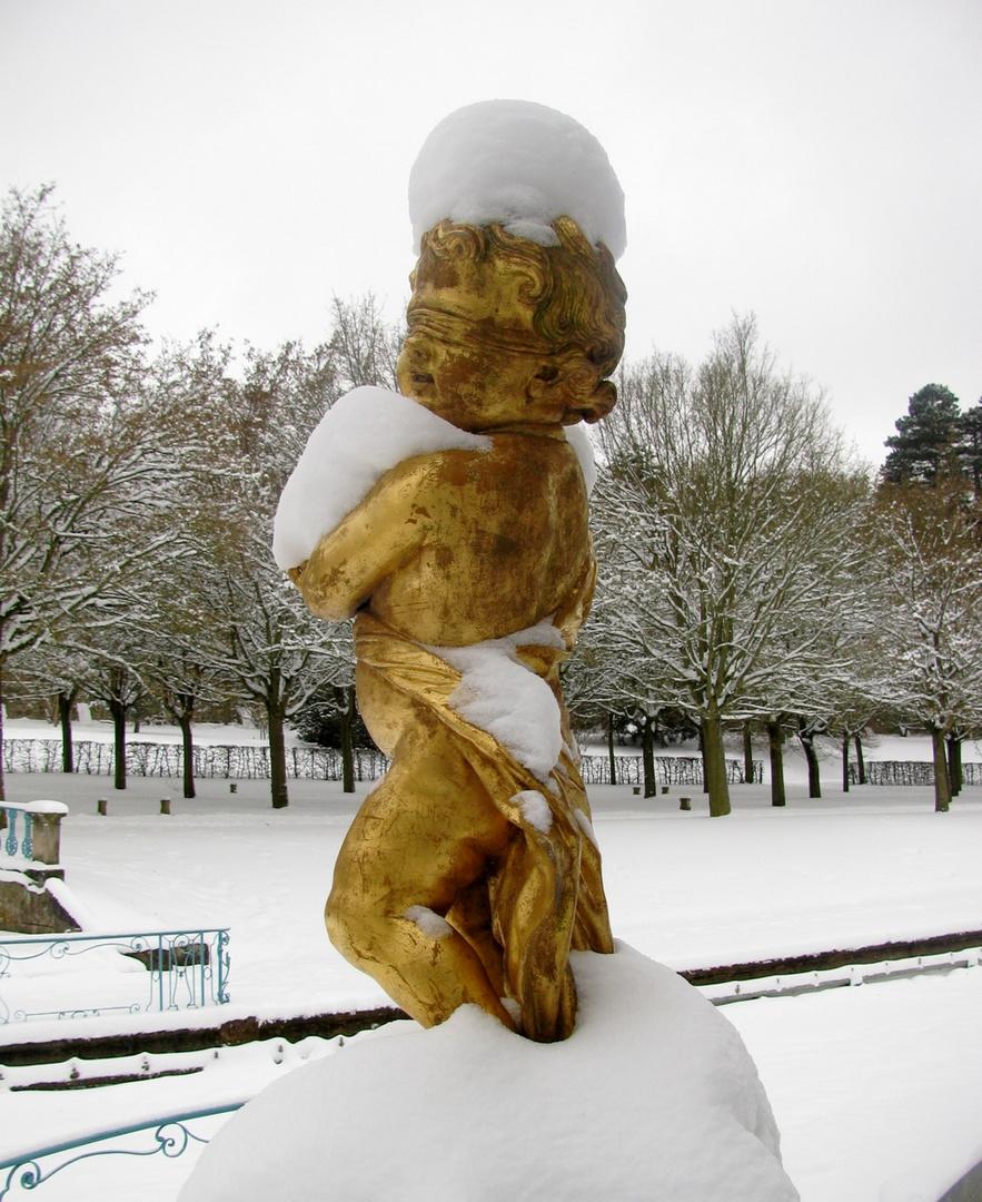 Eine Schneemütze