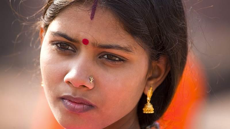Schöne Inderin