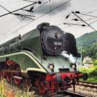 Eine schöne Lokomotive ....in Heidelberg...