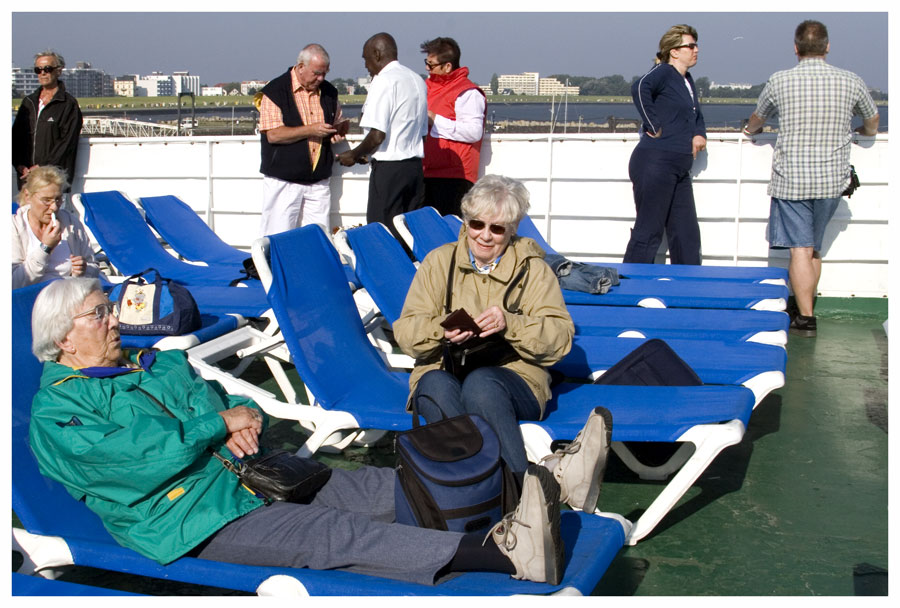 Eine Seefahrt die ist lustig ...