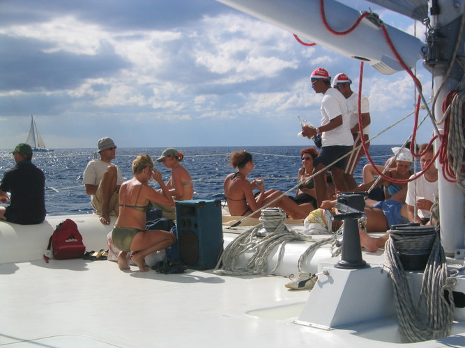 Eine Seefahrt die ist Lustig