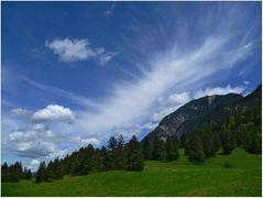 Eine sehr verspielte Wolke ...