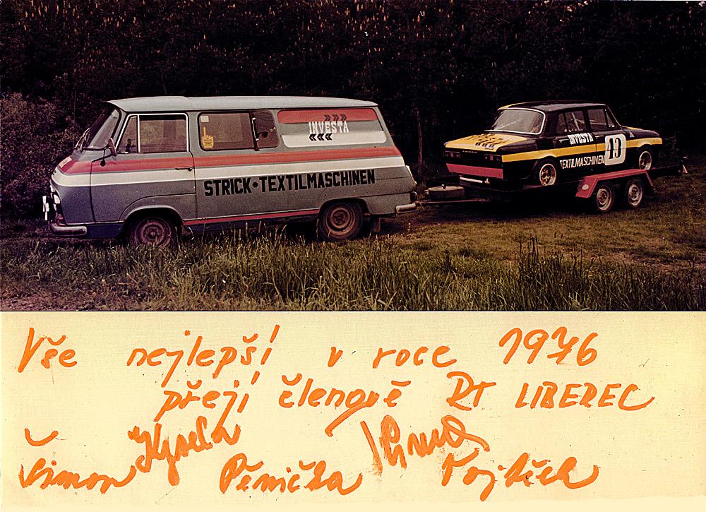 eine seltene PF 1976 Postkarte ... mit Unterschriften :)))