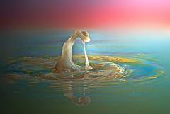 Eine simple Wassersäule ---