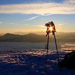 Eine Skitour auf dem Hochkeil