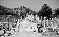 Eine Straße in Efes