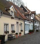 Eine Straße in Warendorf