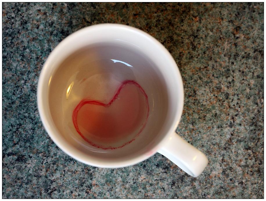 Eine Tasse Tee für die LIEBE...