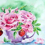 Eine Tasse voller Schönheit