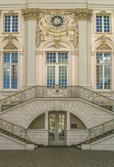 Eine Teilansicht des alten Bonner Rathaus